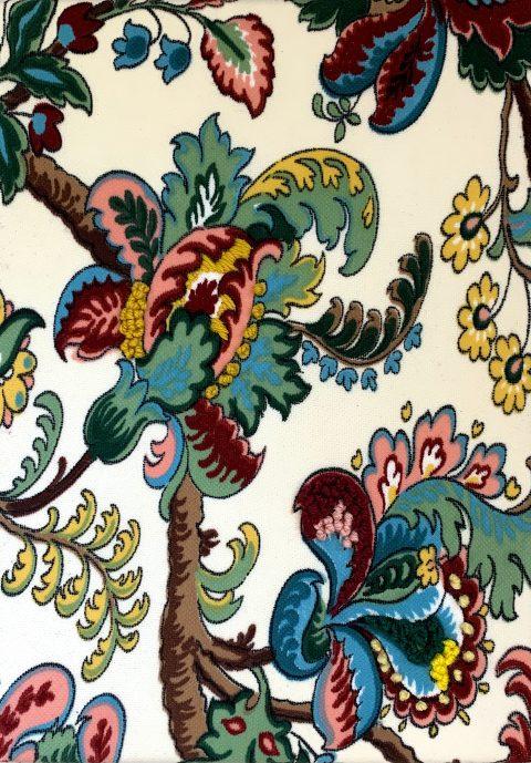 Textiles Nostalgia II,  20 x 30cm,  Fabric & Hand embroidery,  2021